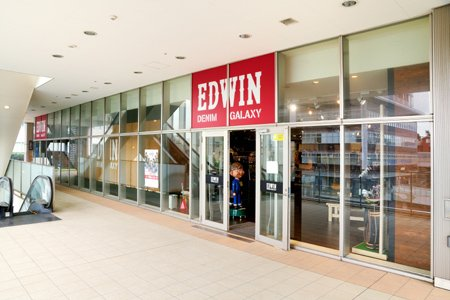EDWIN SHOP DENIM GALAXY 日暮里