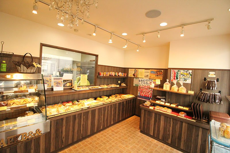「AND BAKERY」内観