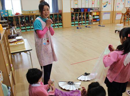 文の里幼稚園 保育2