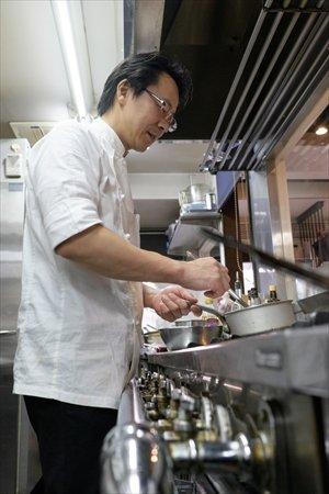 れすとらん さいとう 齊藤さん 厨房