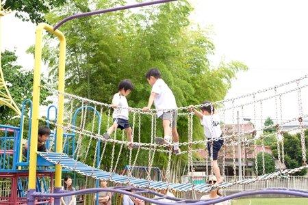 田無いづみ幼稚園 インタビュー 遊具