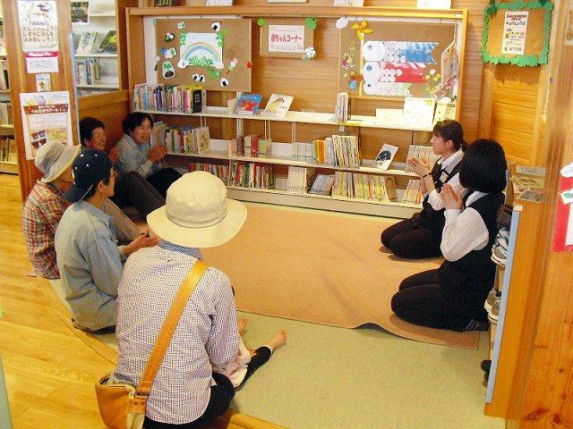 流山市立木の図書館 おはなし会(大人向けの部)