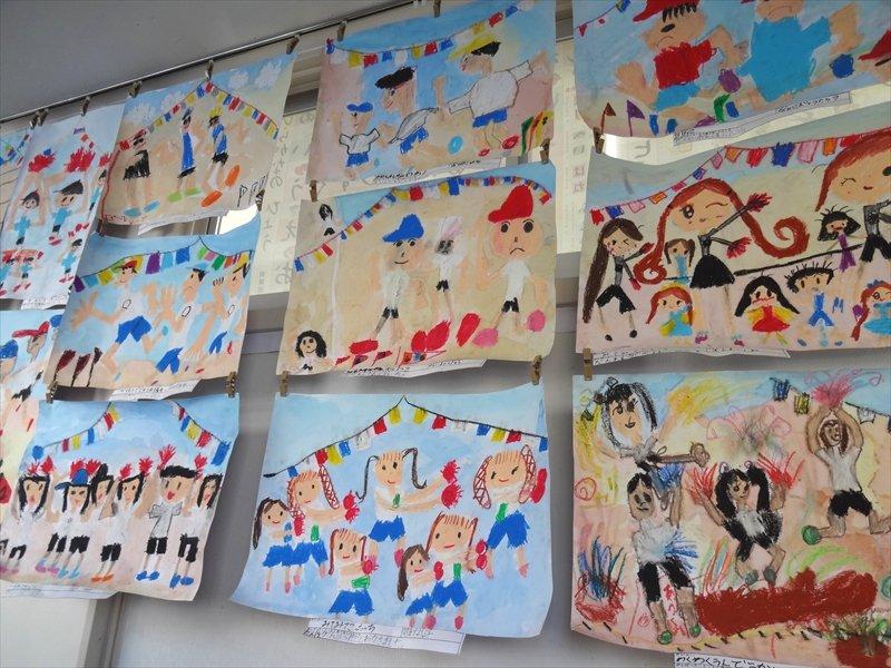 横浜市立川上北小学校 絵画