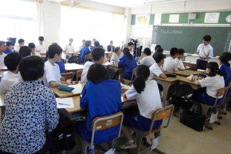 学習支援サポーターによる授業