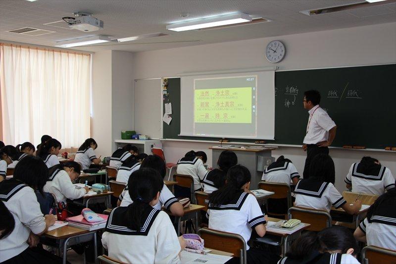 新校舎での授業風景
