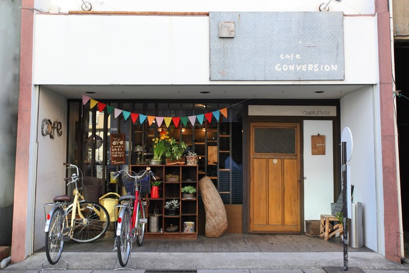 cafe gallery CONVERSION(コンバージョン)