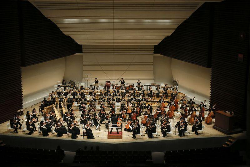音楽科のオーケストラ公演