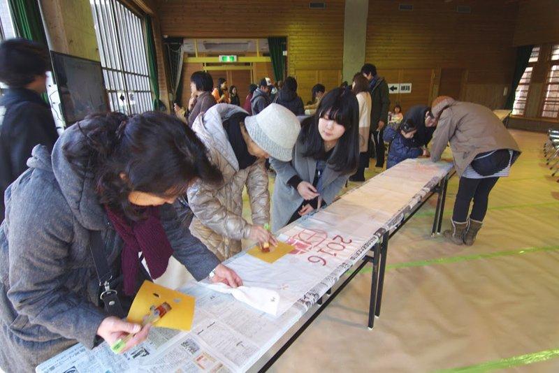 行政、住民、学生が協力し合い実施されている
