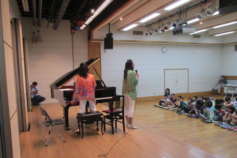「ひかりごはんフェス」ではピアノコンサートなどの企画もあわせて行われる