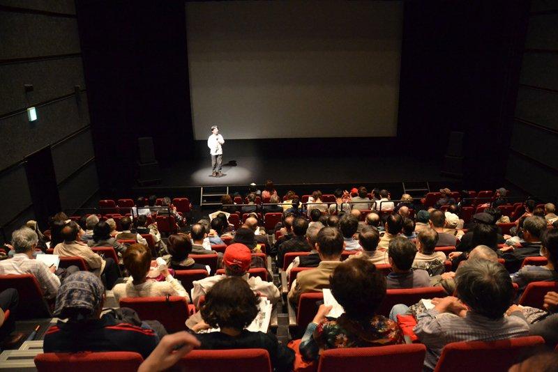 映画祭、上映会の様子