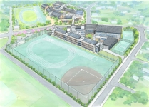 「柏の葉キャンパス」駅近くに建設中の新設校「柏の葉中学校」の計画を聞く/柏市学校教育部学校教育課 高橋さん