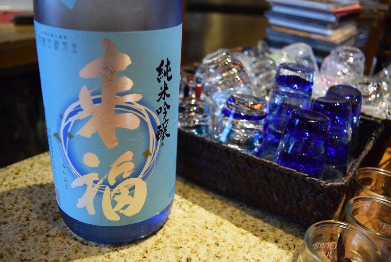 日本酒の種類も季節ごとに旬のものが揃えられる