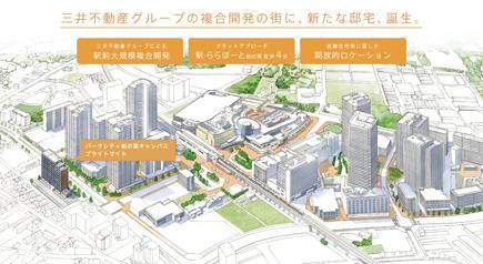 街並み概念CG
