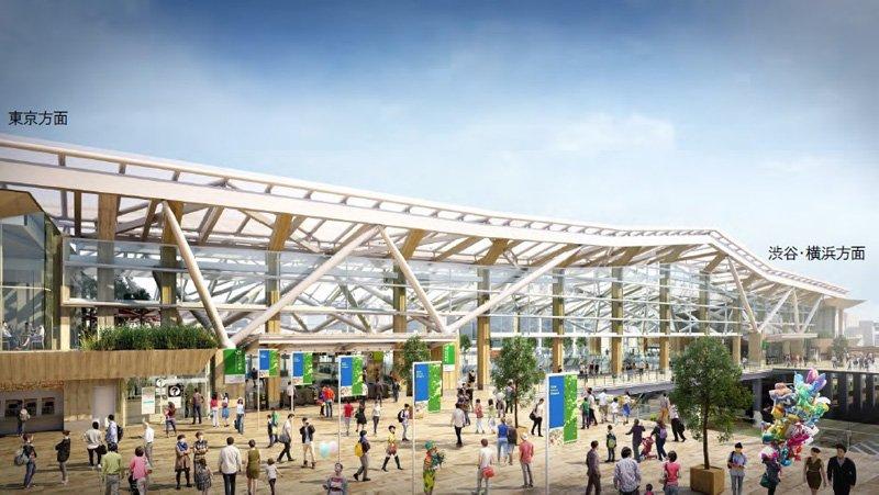 品川新駅のデザイン
