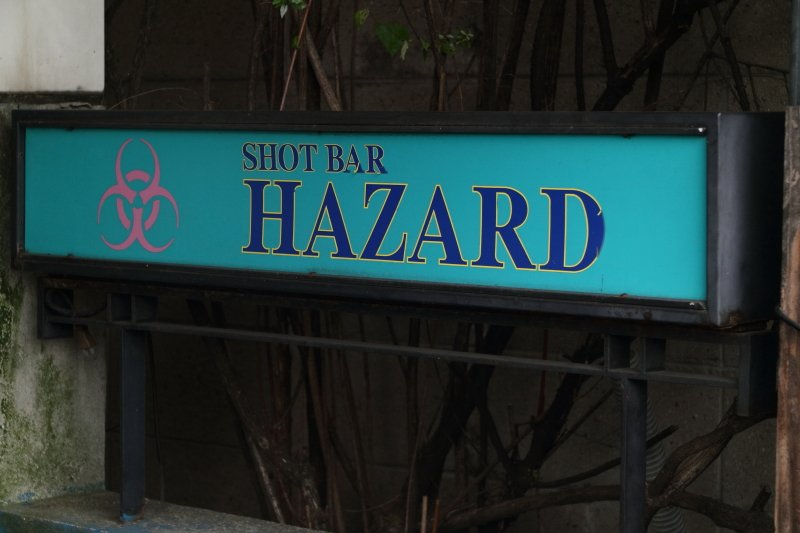 SHOT BAR HAZARD