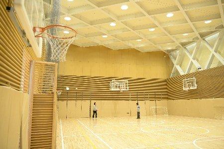 プラリバ-体育館