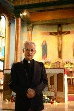 半世紀以上の間、人々に親しまれてきた碑文谷1丁目の<br />シンボル/カトリック碑文谷教会(サレジオ教会) アキレ・ロロピアナ神父