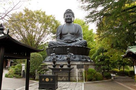 東京大仏(乗蓮寺)