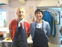小さな子どもも安心して利用できる 体に優しい癒し系カフェ/カフェ トモチート 長島大介さん・京子さん