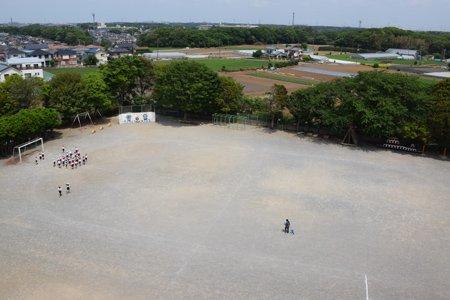 船橋市立坪井小学校 グラウンド