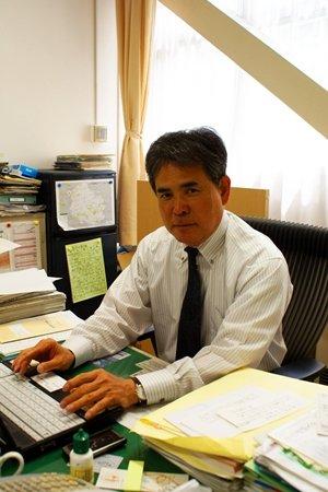 杉並区立和田中学校 校長末吉雄二先生