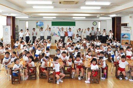 九重幼稚園 園児