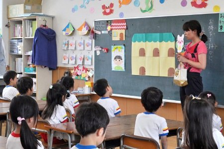 九重幼稚園 先生