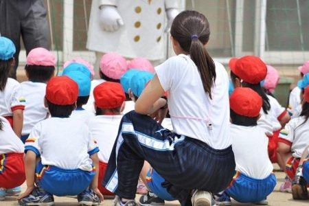 九重幼稚園 体育