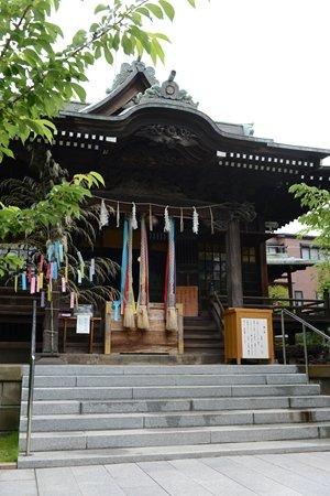 桜神宮 社殿