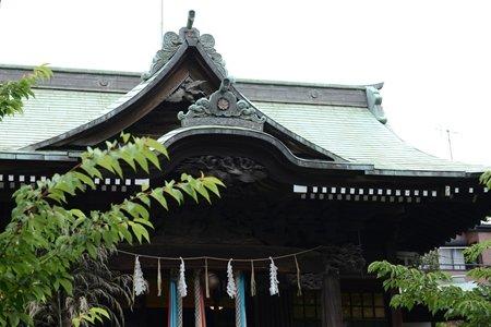 桜神宮 社殿 屋根