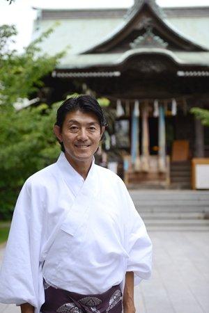 桜神宮 宮司 芳村さん