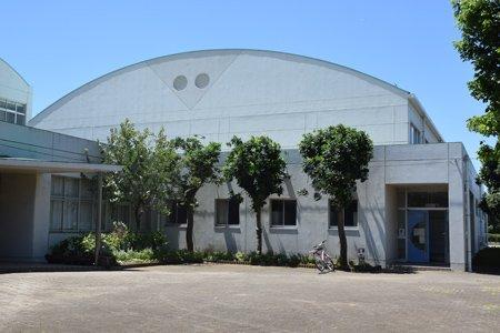 印西市立西の原小学校 体育館