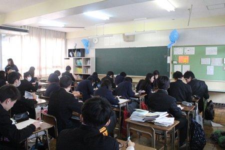 和泉市立光明台中学校 教室