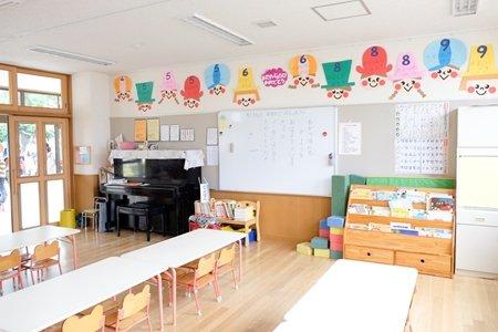 田無いづみ幼稚園 インタビュー 園内