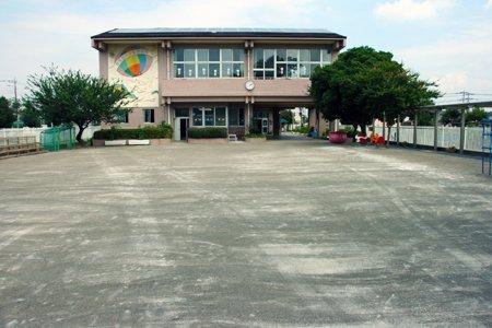 所沢第六文化幼稚園 園庭