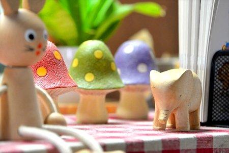 ながつたパオパオ木のおもちゃ
