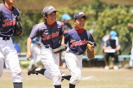 少年野球チーム 磯辺トータス インタビュー