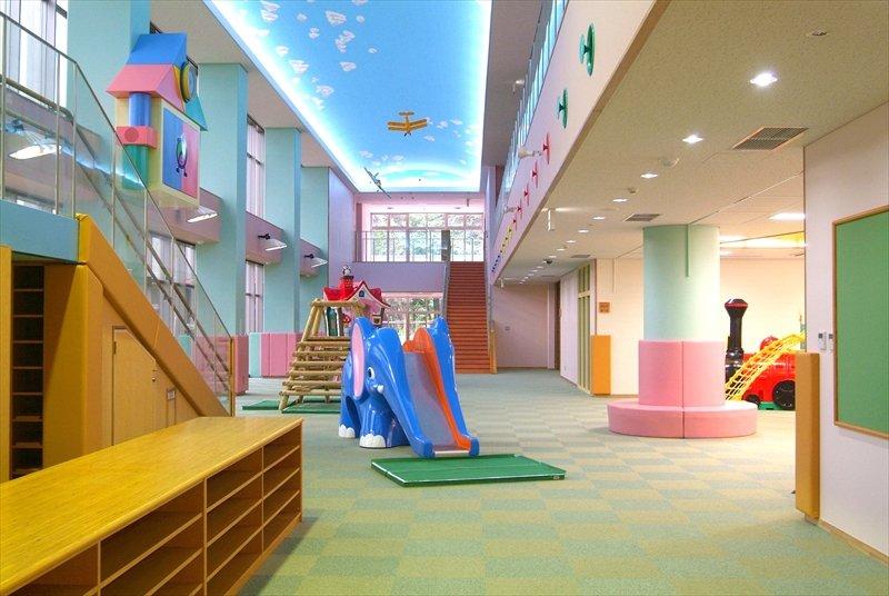 上尾市児童館こどもの城(こどもの城より提供)