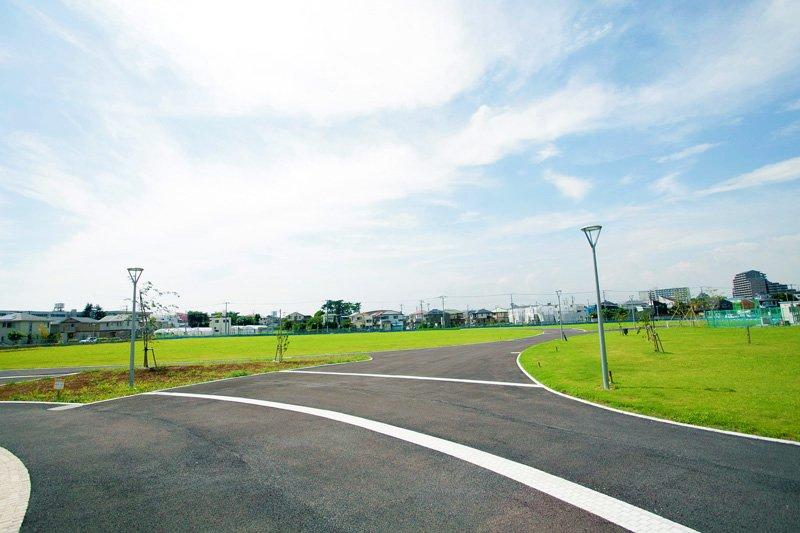 現在、整備が進められている「谷津近隣公園」