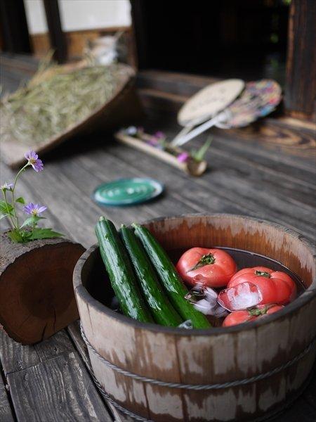 三芳町産の夏野菜(※写真提供三芳町)