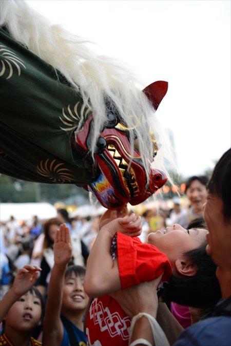 お囃子獅子舞(※写真提供三芳町)