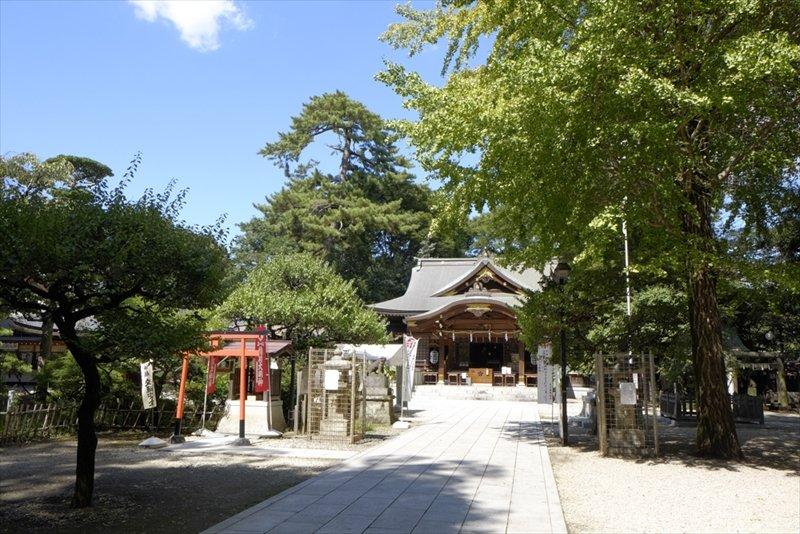 木々と神社