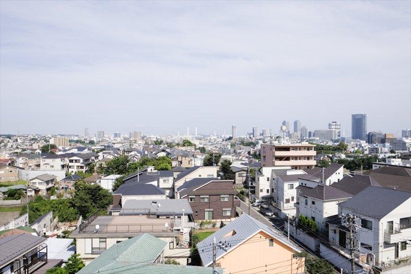 住宅街風景