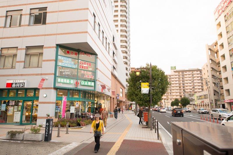 長町駅前商店街