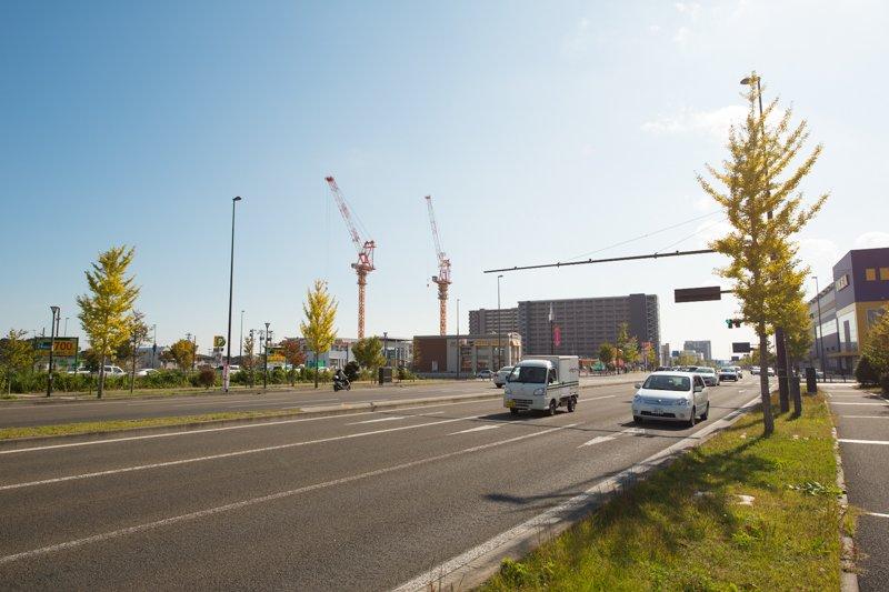 2007(平成19)年に開通した「あすと長町大通り線」