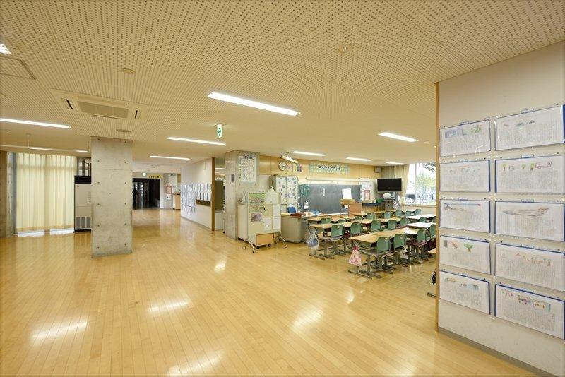 壁のない教室