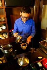 変わらずここにあり続けるカフェ/cafe 螢明舎 オーナー 下田荘一郎さん
