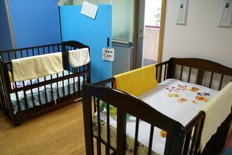 赤ちゃんのスペースも