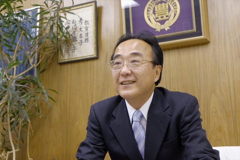 中村豊校長先生