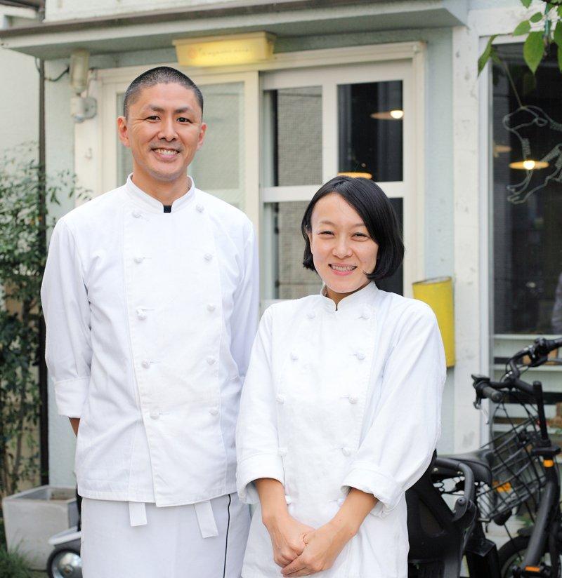 こだわりの和菓子が人気の「wagashi asobi」のお二人